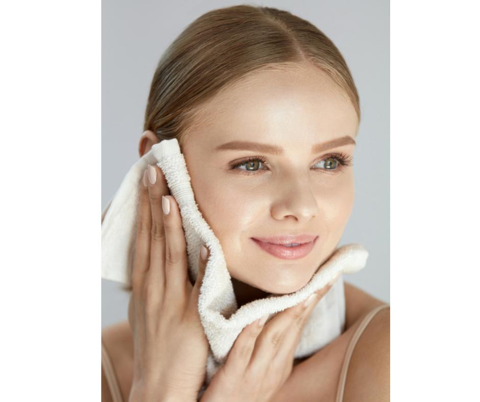 exfoliate for brighter skin